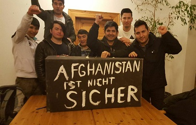 Afganistan ist nicht sicher! The Voice Refugee Forum - Black Box