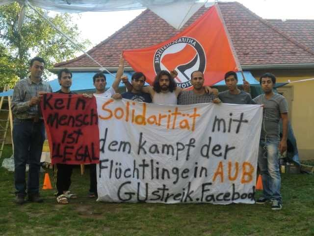 The Resistance of Asylum Seekers in AUB: Strikes and decentralized protest in Bayern (Eng/Deut)